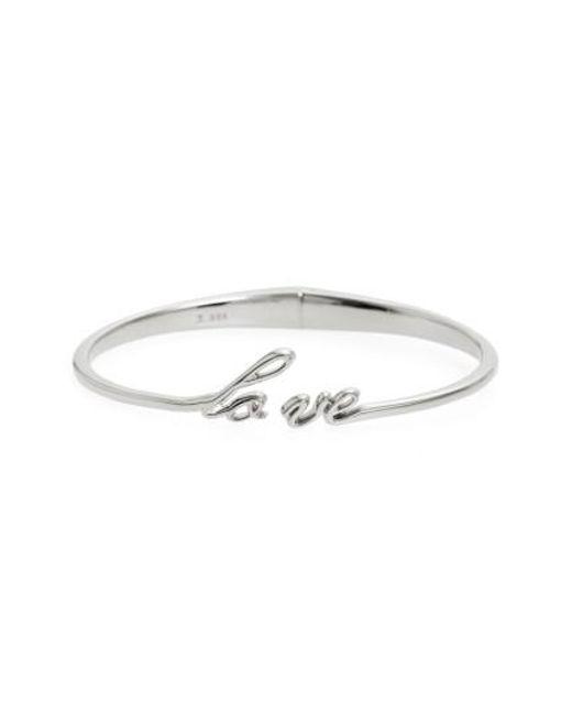 Judith Jack | Metallic To Love By Love Hinge Bracelet | Lyst