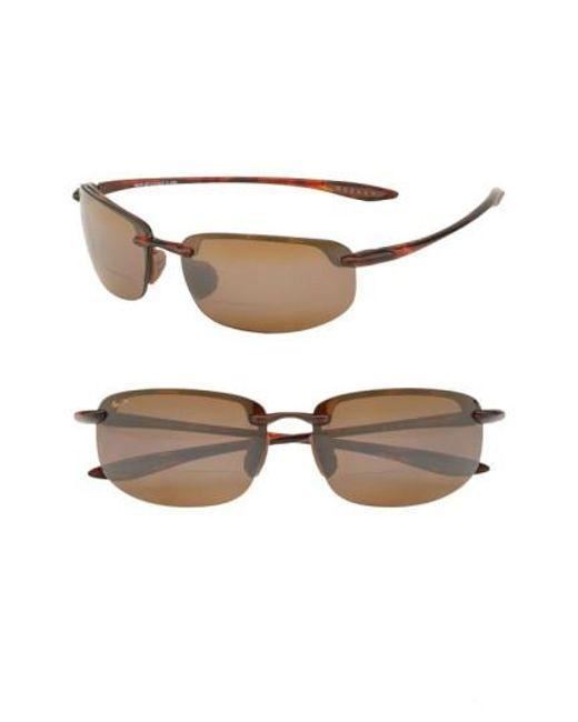 Maui Jim   Brown 'ho'okipa - Polarizedplus2' Reader Sunglasses for Men   Lyst