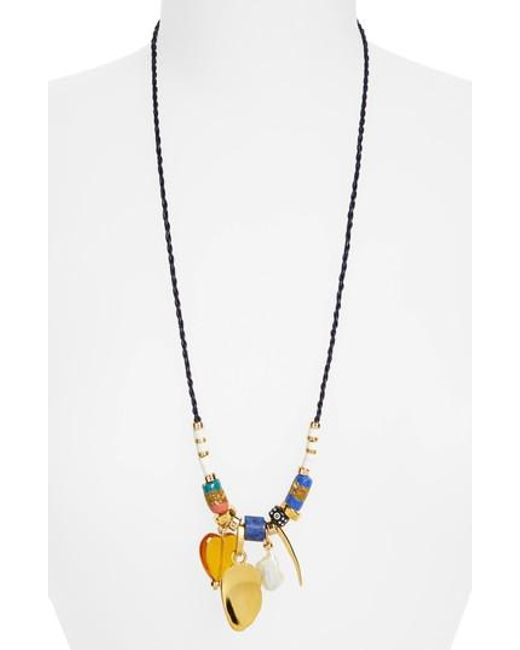 Lizzie Fortunato | Metallic Mombasa Surf Pendant Necklace | Lyst
