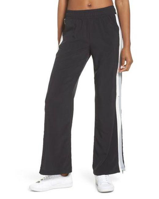 Zella - Black Walk The Talk Track Pants - Lyst