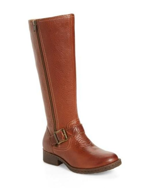 Comfortiva | Brown Sedalia Tall Boot | Lyst