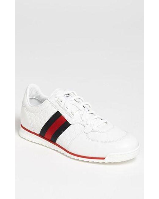 Gucci | White Sl 73 Sneaker for Men | Lyst