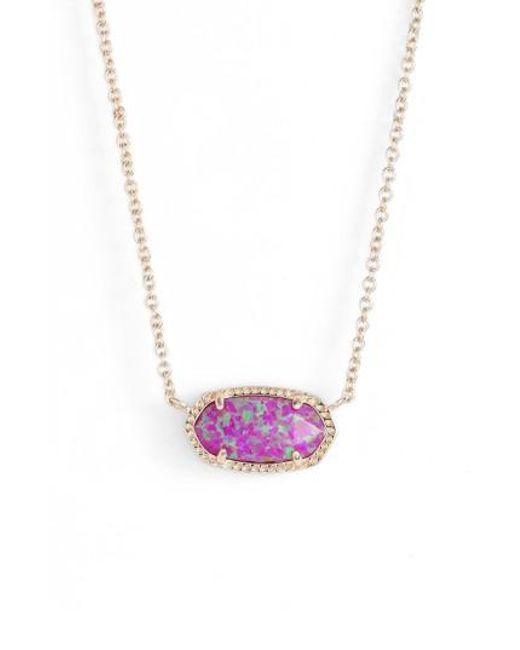 Kendra Scott   Multicolor Elisa Pendant Necklace   Lyst