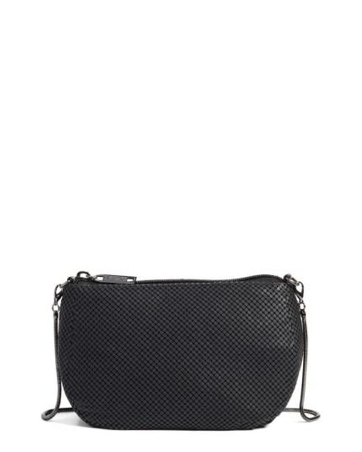 Whiting & Davis | Blue Matte Mesh Cross-Body Bag | Lyst