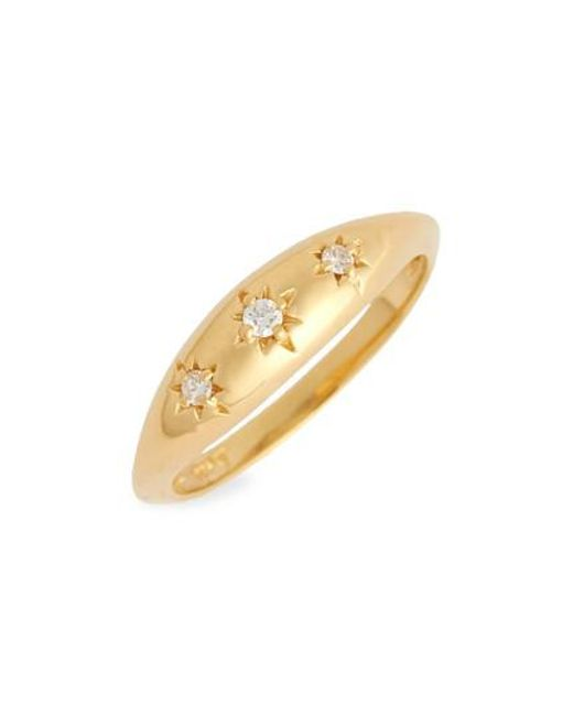 ICONERY - Metallic X Michelle Branch Diamond Ring - Lyst