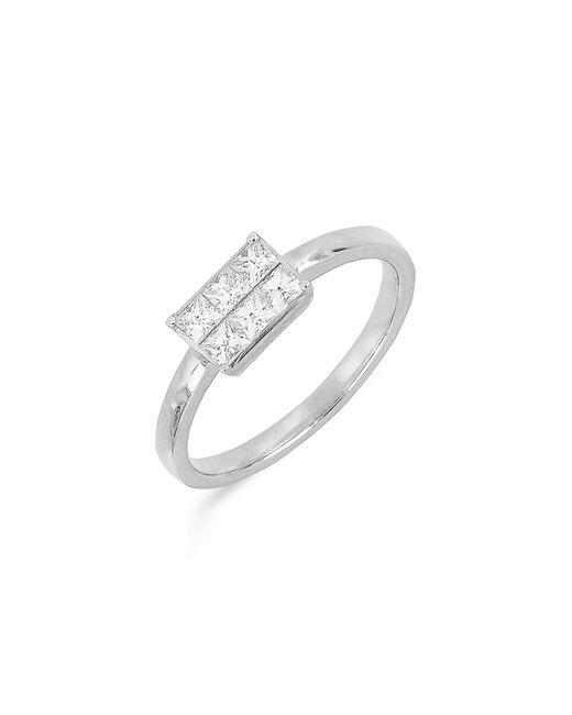 Bony Levy - Metallic Princess Diamond Ring (nordstrom Exclusive) - Lyst