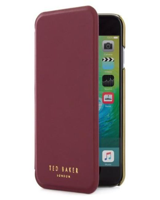 Ted Baker | Purple Shannon Iphone 7 Folio | Lyst