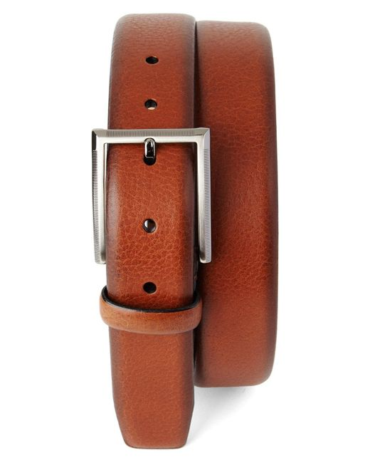 Tommy Bahama - Brown Leather Belt for Men - Lyst