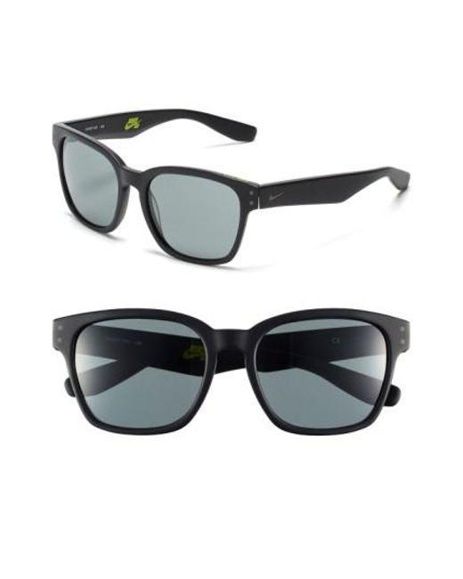 Nike | Black Volano 55mm Sunglasses | Lyst