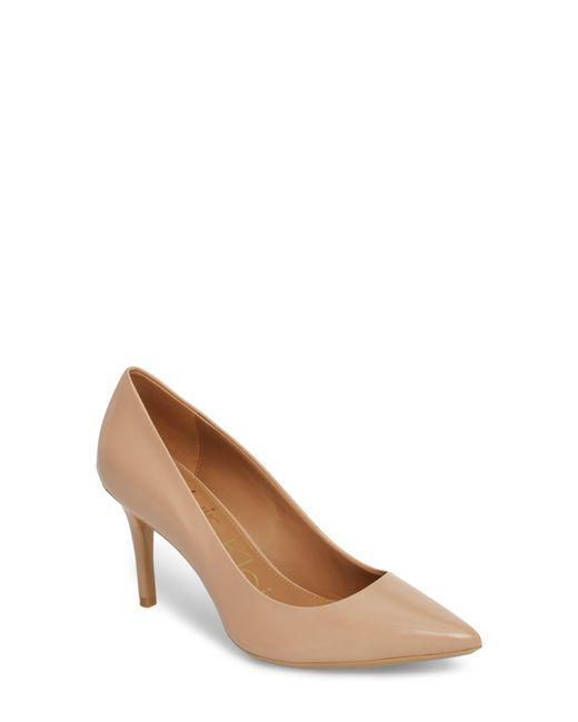 Calvin Klein - Natural 'gayle' Pointy Toe Pump - Lyst