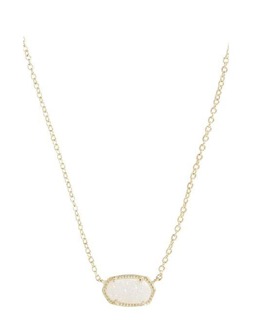 Kendra Scott - Metallic Elisa Filigree Pendant Necklace - Lyst