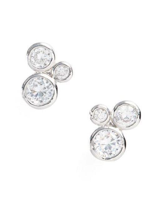Melinda Maria | Metallic Jasmine Stud Earrings | Lyst