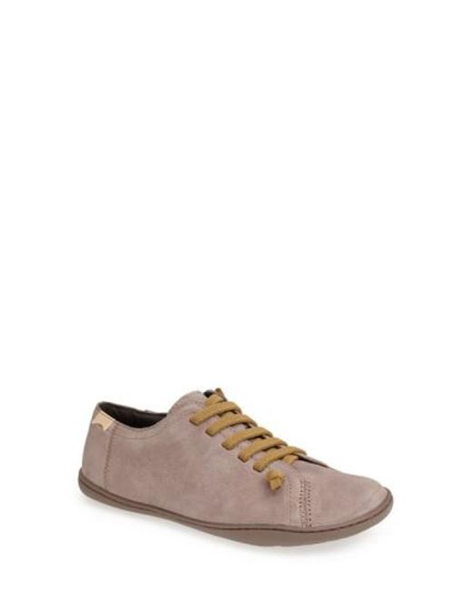 Camper | Gray 'peu Cami' Leather Sneaker | Lyst