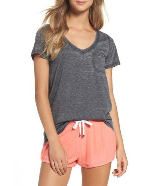 Make + Model | Gray Gotta Have It V-neck Tee | Lyst