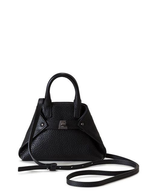 Akris - Black Tasche Micro Leather Crossbody Bag - Lyst