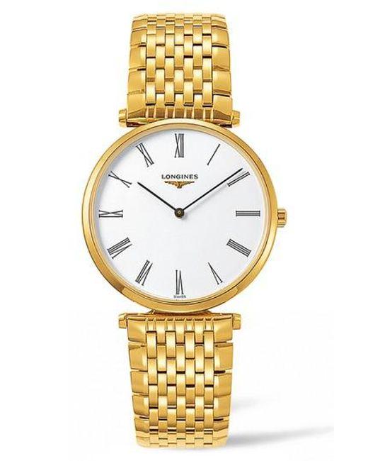Longines - Metallic La Grande Classique De Bracelet Watch - Lyst