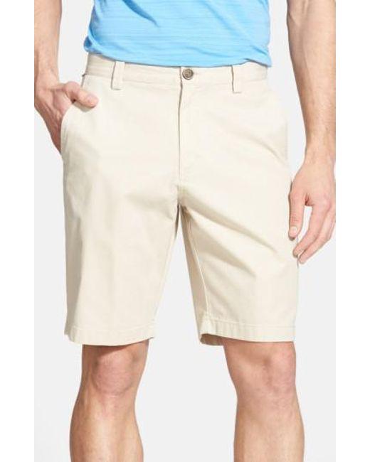 Cutter & Buck - Natural 'beckett' Shorts for Men - Lyst