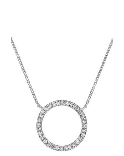 Lyst carriere jewelry carriere diamond circle pendant necklace carriere jewelry metallic carriere diamond circle pendant necklace nordstrom exclusive lyst aloadofball Gallery