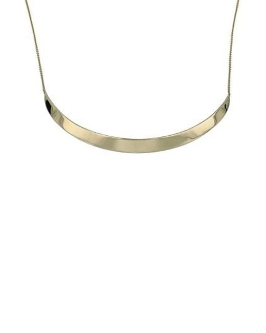 Bony Levy - Metallic Bar Necklace (nordstrom Exclusive) - Lyst