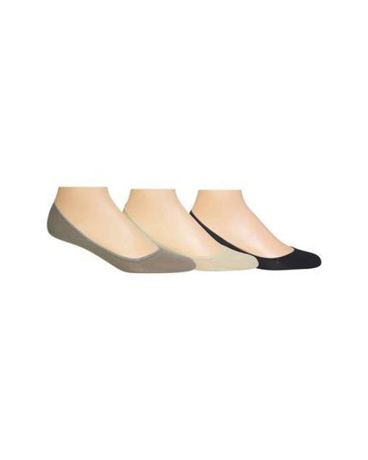 Polo Ralph Lauren | Gray 3-pack Liner Socks, Grey for Men | Lyst