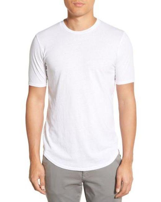 Goodlife - White Crewneck T-shirt for Men - Lyst