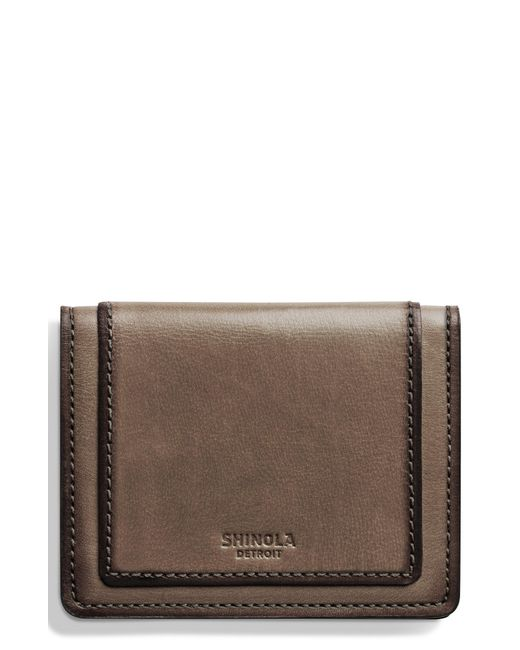 Shinola - Brown Outlaw Folding Card Case - for Men - Lyst