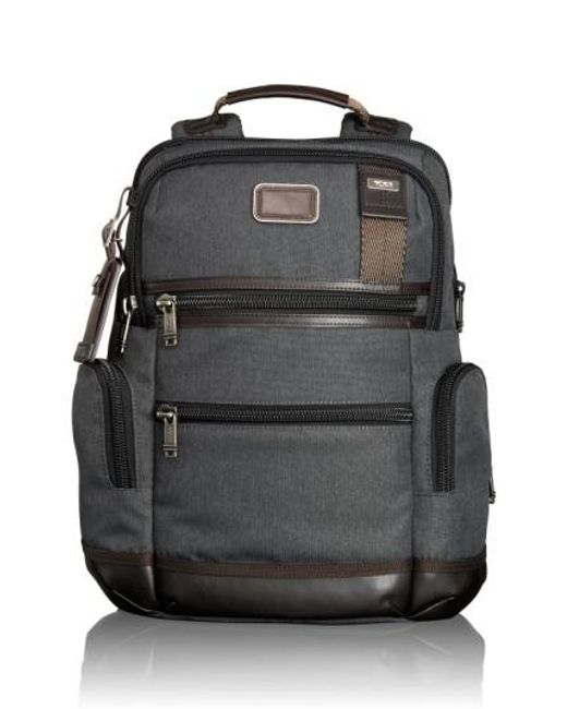 Tumi | Gray 'alpha Bravo - Knox' Backpack for Men | Lyst