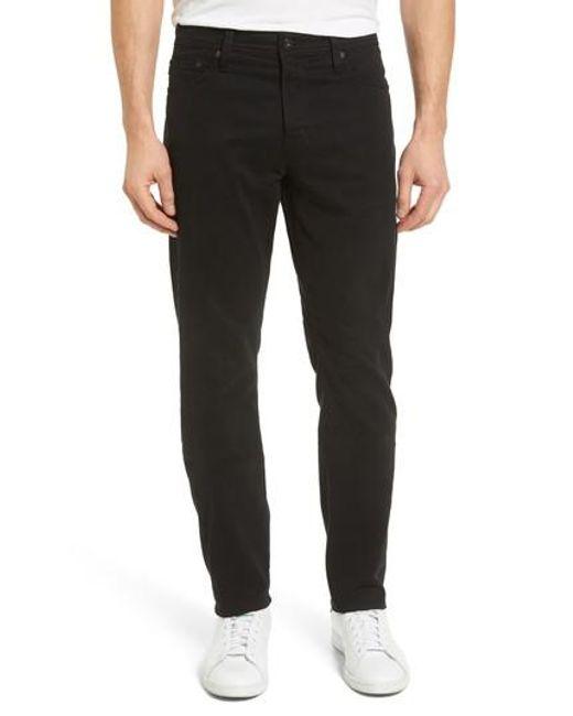 AG Jeans - Black Jeans Everett Slim Leg Pants for Men - Lyst