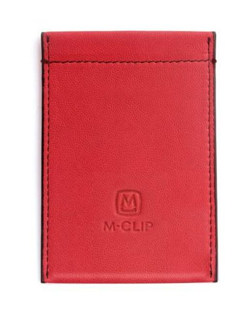 M-clip - Red M-clip Rfid Card Case for Men - Lyst