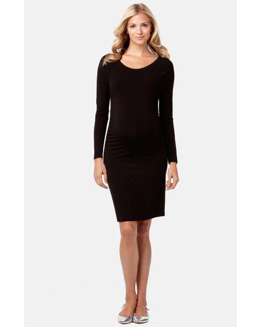 Rosie Pope - Black Maternity Sheath Dress - Lyst