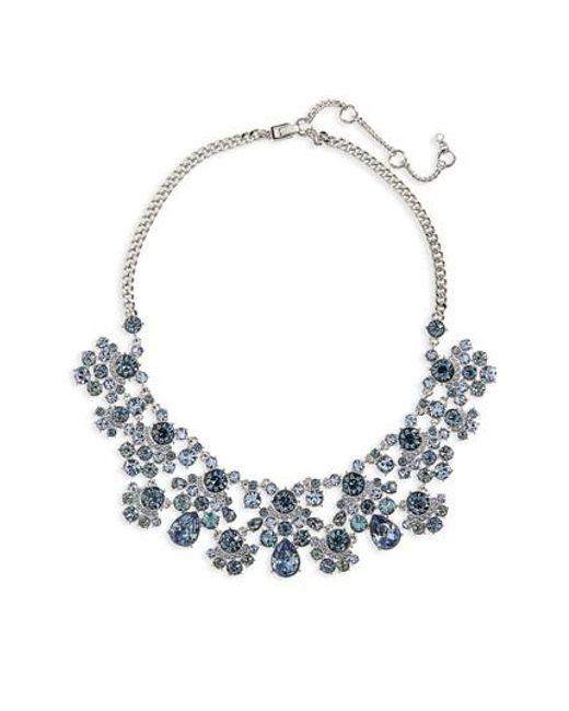 Givenchy | Blue Verona Drama Collar Crystal | Lyst