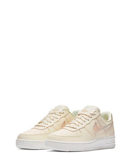 eca441fc8b Nike Air Force 1 '07 Se Premium Sneaker in White - Save 1% - Lyst