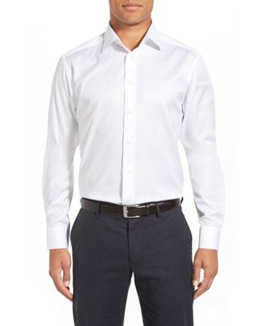 Eton of Sweden - White Slim Fit Dress Shirt for Men - Lyst