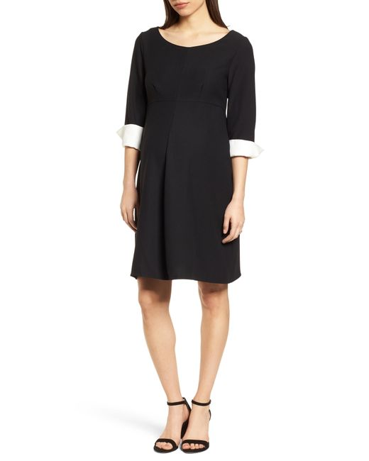 601b5c6a8d Lyst - Isabella Oliver Rosa Maternity Dress in Black