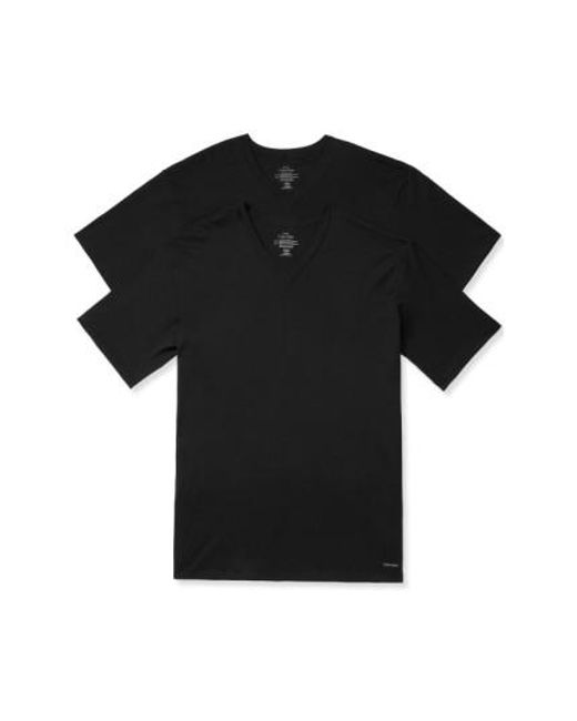 Calvin Klein | 2-pack Cotton T-shirt, Black for Men | Lyst
