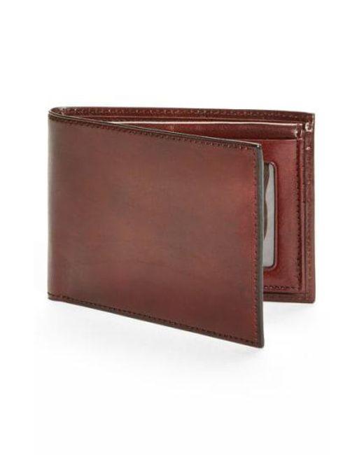 Bosca - Black Id Passcase Wallet - for Men - Lyst