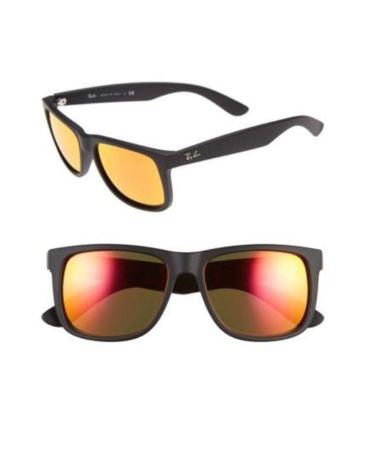 Ray-Ban | Black 54mm Sunglasses for Men | Lyst