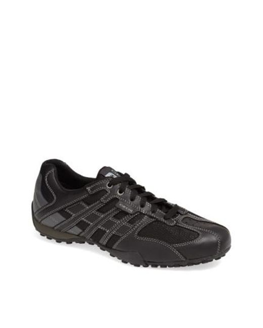 Geox - Black 'snake 95' Sneaker for Men - Lyst