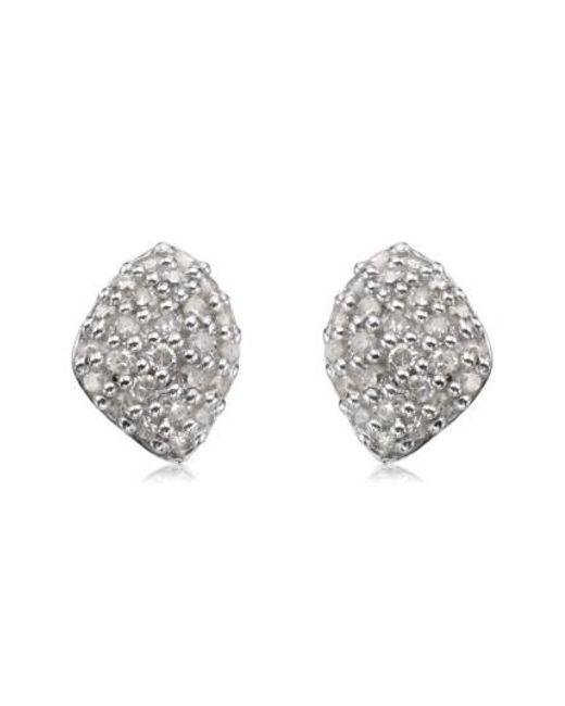 Monica Vinader - Metallic Nura Mini Diamond Stud Earrings - Lyst