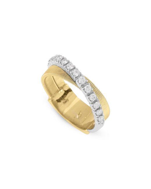 Marco Bicego - Metallic Masai Two-tone Diamond Ring - Lyst