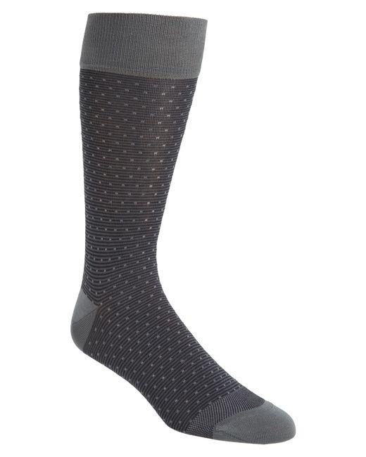 Calibrate - Gray Dot Socks for Men - Lyst
