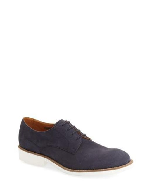 Vince Camuto - Brown 'apexx' Nubuck Derby for Men - Lyst