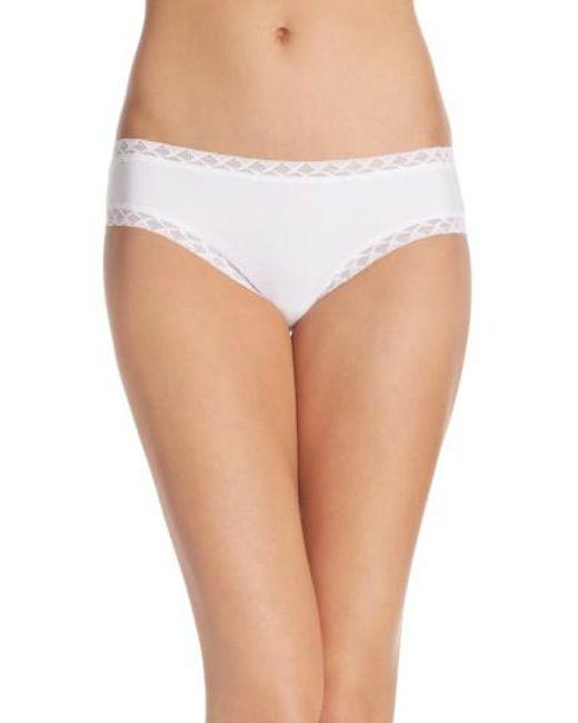 Natori | White 'bliss' Bikini | Lyst