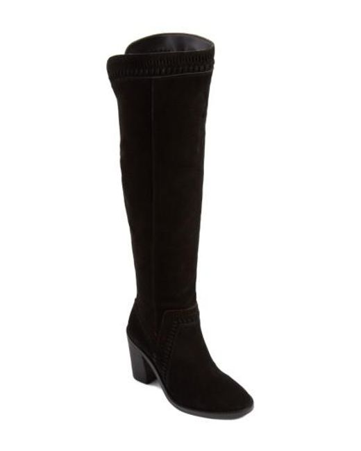 Vince Camuto | Black Madolee Over The Knee Boot | Lyst