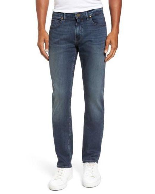 PAIGE | Blue Transcend - Federal Slim Straight Leg Jeans for Men | Lyst