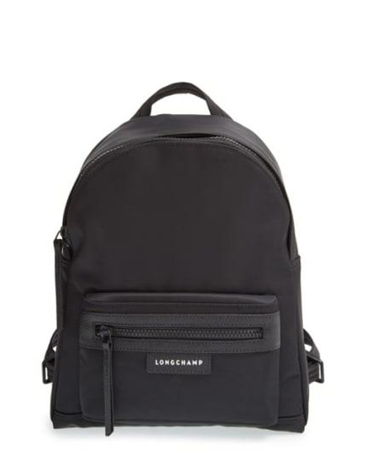 Longchamp - Black 'small Le Pliage Neo' Nylon Backpack - Lyst