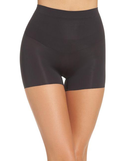 Spanx - Black 'shape My Day' Girl Shorts - Lyst