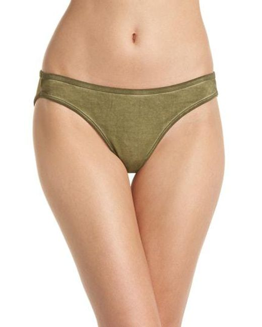 Les Girls, Les Boys - Green Rainbow Mini Briefs - Lyst