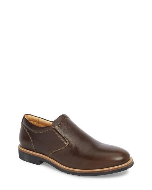 Johnston & Murphy - Brown Barlow Plain Toe Slip-on for Men - Lyst