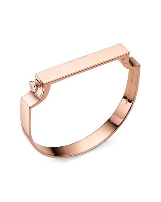 Monica Vinader | Multicolor Signature Bangle | Lyst